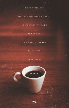 Thank you, coffee.
