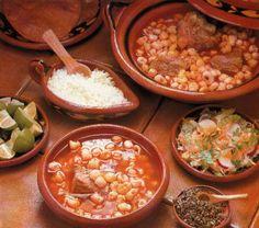 Pozole rojo - Mexican Food (Comida Mexicana)