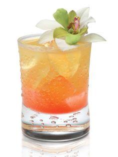 Hula Dancer's Delight...SKYY Infusions Pineapple, van rum, lychee puree, lemon juice, pineapple juice