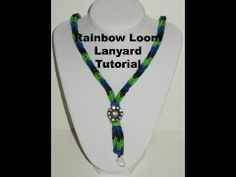 FISHTAIL LANYARD. No Loom required. - YouTube