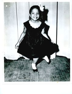 "Gladys Knight at age 7, appearing on ""The Original Amateur Hour"" in 1952"