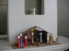 quilled nativity