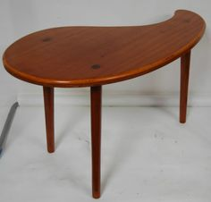 Cool Midcentury Modern 1960s Teardrop Palette Coffee Table added to our ebay shop