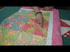 Pinwheel Quilt using a Turnover Pack from Missouri Quilt Co!
