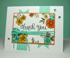 Perry Papercrafts: A Coastal Thank You for Freshly Made Sketches