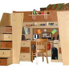 cool loft beds on pinterest 120 pins. Black Bedroom Furniture Sets. Home Design Ideas