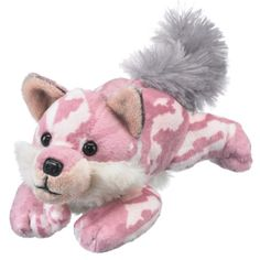 Pink Wolf with Mossy Oak Pattern (Camo Wild Collection) at theBIGzoo.com, a toy store that has shipped over 1.2 million items.