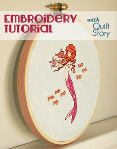 Quilt Story: Embroidery tutorial and ideas...