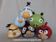 Como hacer los muñecos de Angry Birds 1