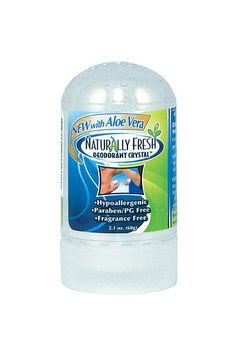 Naturally Fresh Deodorant.  $2.97, it lasts a year, and it really works!