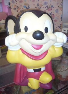Mighty Mouse cookie jar $195.00