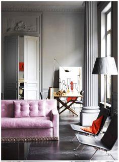 Gorgeous. Parisian apartment