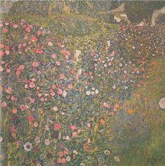 Italian horticultural landscape - Gustav Klimt
