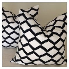 Decorative Throw Pillow Cover 18x18 Designer Fabric  by DEKOWE, $19.00