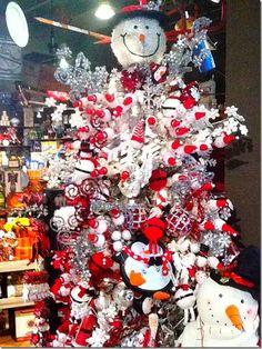 Snowman Tree On Pinterest Snowman Tree Snowman