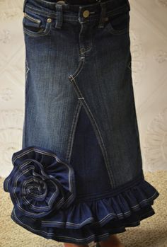lovemyjeanskirt.com. very cool website. they use old jeans even your old jeans to make these beautiful skirts!