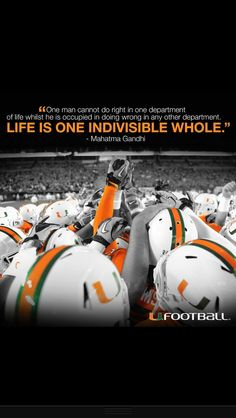 #miami #hurricanes all about #confidence ... That's why I love their style