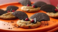 Spooky Bat Cookies | Print free coupons for your favorite foods and more at http://MyPrintableCoupons.net