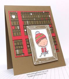 Dear Heart, Project Life Holiday Cheer, Stampin' Up!, Brian King