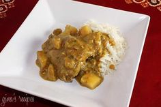 Chicken Curry with Coconut Milk  - ENJOY IT WITH JUMP! - Credit: Skinnytaste - Click on image to see recipe