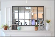 How To: The Pottery Barn Knock-Off Mirror