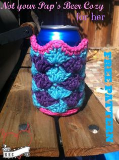 Not your Pap's beer cozy. Freebie, thanks so xox