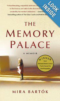 The Memory Palace: A Memoir: Mira Bartok: 9781439183328: Amazon.com: Books toread book, book list, memori palac