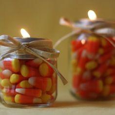 Candy corn decoration