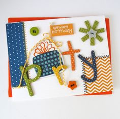 Card-Blanc by Kathy Martin: Party
