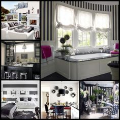 10 ways to decorate with black and white.
