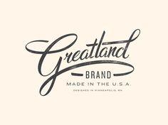 Greatland - Allan Peters | #corporate #branding #creative #logo #personalized #identity #design #corporatedesign repinned by www.BlickeDeeler.de | Visit our website www.blickedeeler.de/leistungen/corporate-design/logo-gestaltung