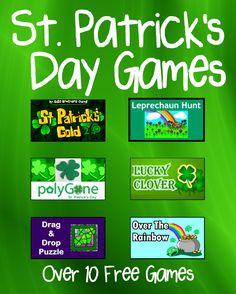 holiday idea, game, stpatrick