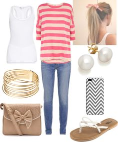 """""""Cute Spring Outfit"""" by natihasi on Polyvore"""