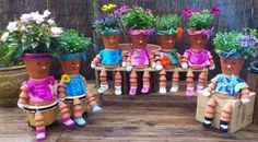 Flower pot kids!