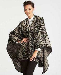 Leopard Print Wrap