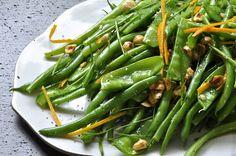 המטבח של סיון: סלט שעועית ירוקה עם אגוזי לוז ותפוז
