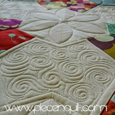 Piece N Quilt: Free-Motion Quilting