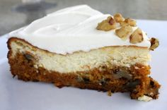 Cheesecake Factory Carrot Cake Cheesecake. Great combo of cheesecake & carrot cake! This is a copycat recipe from RecipeZaar.