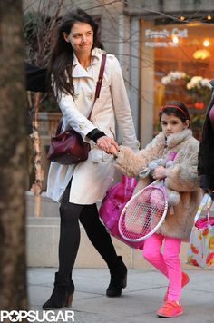 Suri Cruise and Katie Holmes in NYC | Pictures