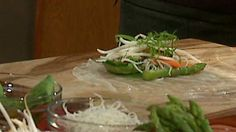 The Cheesecake Factory is ready to share a recipe for a simple, holiday appetizer. It's Vietnamese Shrimp Rolls.