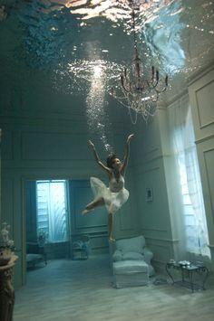 underwater photos, living rooms, pool, dream, underwater photography