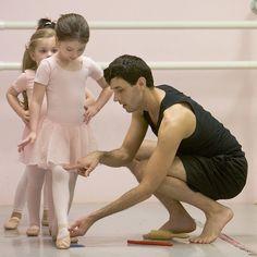 Baby ballerinas.