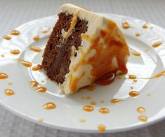 Bailey's Caramel Irish Cream Cake