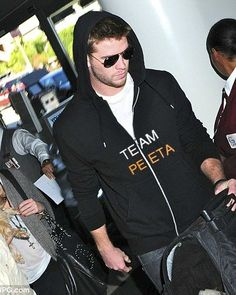 Even Liam is Team Peeta! Love it!!