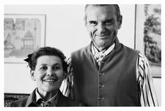 Charles & Ray Eames    Husband-and-wife design team Charles (1907-1978) and Ray (1912-1988) Eames were among the most influential designers of the twentieth century. Their landmark contributions include furniture, architecture, film, and graphics. They were pioneers in the molding of plywood, which was developed from their experiments and projects for the U.S. Navy during World War II.