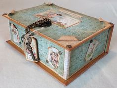 Sweet Sentiments Book Box by Michelle Flower #graphic45