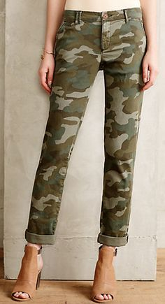 Cute camo pants for fall #anthrofave http://rstyle.me/n/ryjyvnyg6