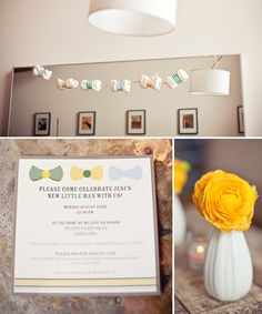 REAL PARTIES: Darling Bow-Tie Baby Shower // Hostess with the Mostess®