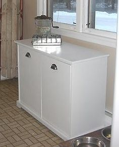 Pull out recycle and garbage bins @ knock of wood plans