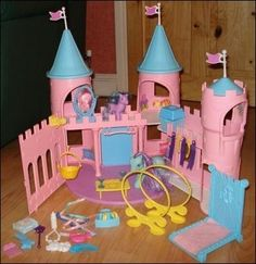 My Little Pony Dream Castle 80's---- sooooo many hours spent playing with this!